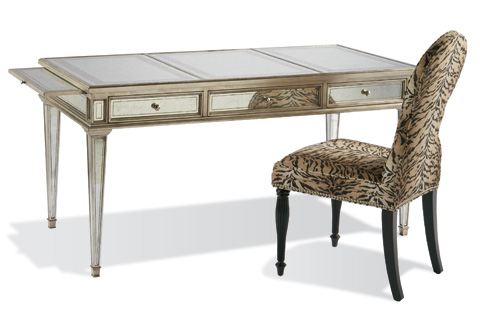 CTH-Sherrill Occasional - Eglomise Writing Desk - 960-006
