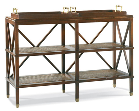 Image of South Hampton Tiered Tray Console
