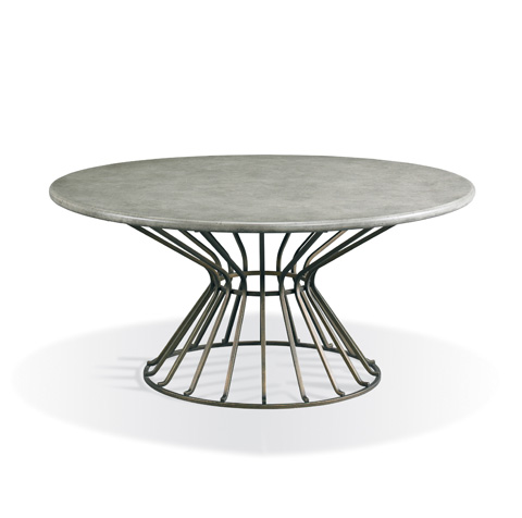 CTH-Sherrill Occasional - Round Cocktail Table - 374-835