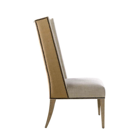 Curations Limited - Betrix Hemp and Linen Chair - 8826.1200