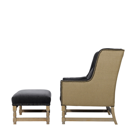 Curations Limited - Antwerpen Armchair - 7841.0008.SVH