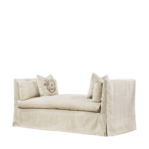 Curations Limited - Beige Walterom Daybed - 7842.1305.A015