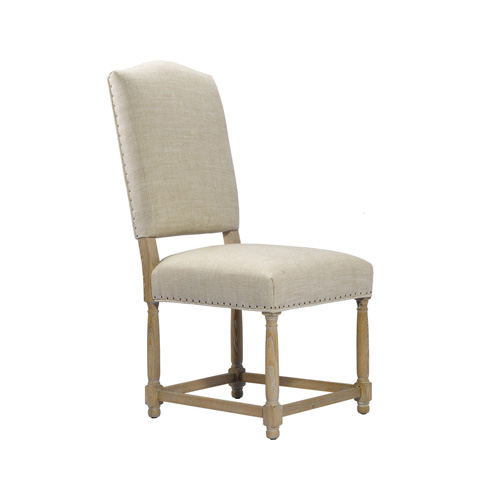 Curations Limited - Beige Eduard Side Chair - 8826.0017.A015