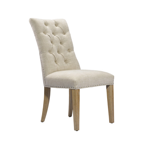 Curations Limited - Beige Albert Side Chair - 8826.1005.A015