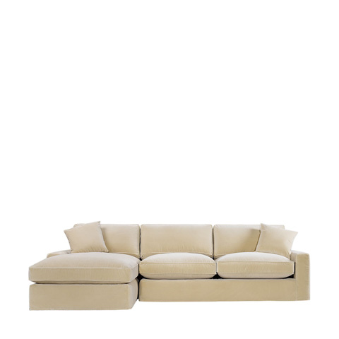 Curations Limited - Mons Upholstered LAF Chaise Sectional - 7843.0010.LAF