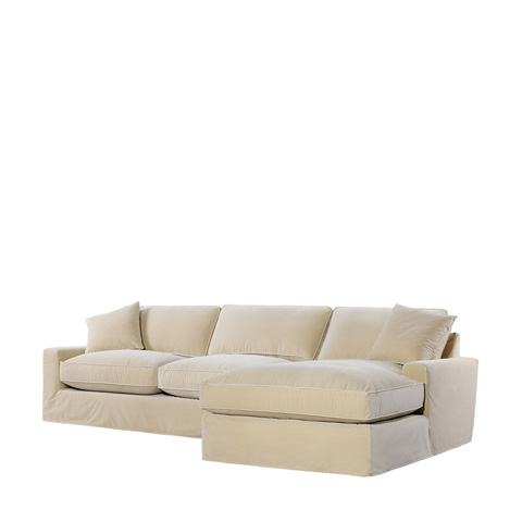Curations Limited - Mons Upholstered RAF Chaise Sectional - 7843.0010.RAF