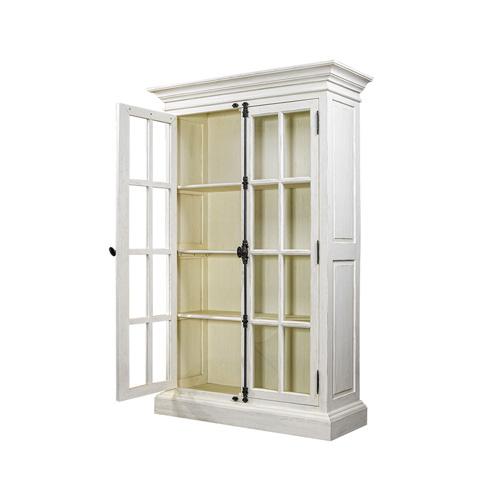 Curations Limited - Old Casemen Vintage White Cabinet - 8810.2003