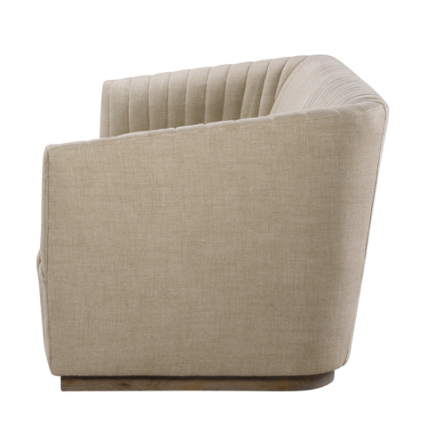 Curations Limited - Sete Strip Linen Sofa - 7842.0044.A015