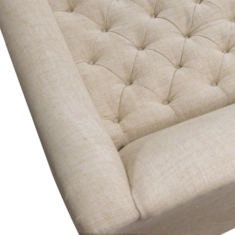 Curations Limited - Brussels Linen Sofa - 7842.0046.A015