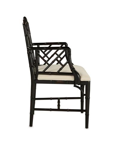 Currey & Company - Bamboo Arm Chair - 7081