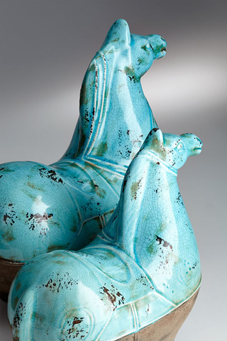 Cyan Designs - Large Cavallo Sculpture - 07393