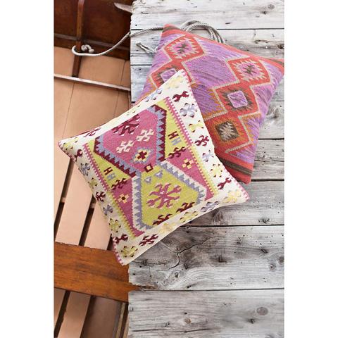 Dash & Albert Rug Company - Bohemian Wool Woven Pillow - RDA236-DP26