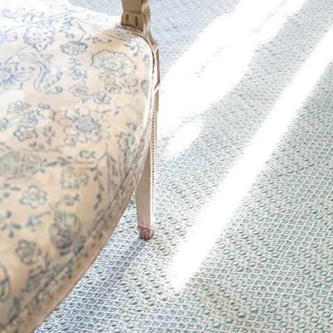 Dash & Albert Rug Company - Bonnie Blue Woven Cotton Rug - RDA407-58