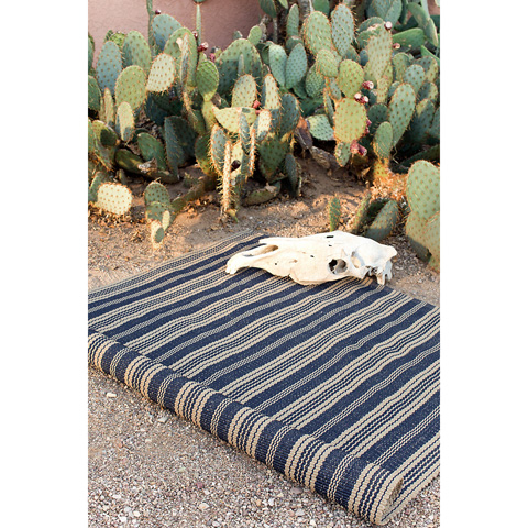 Dash & Albert Rug Company - Otis Navy Indoor/Outdoor Rug - RDB091-23