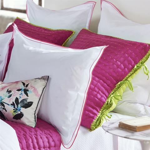 Designers Guild - Astor Peony/Pink Euro Sham - BEDDG0773