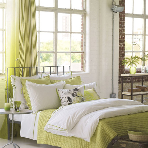 Designers Guild - Astor Moss King Flat Sheet - BEDDG152
