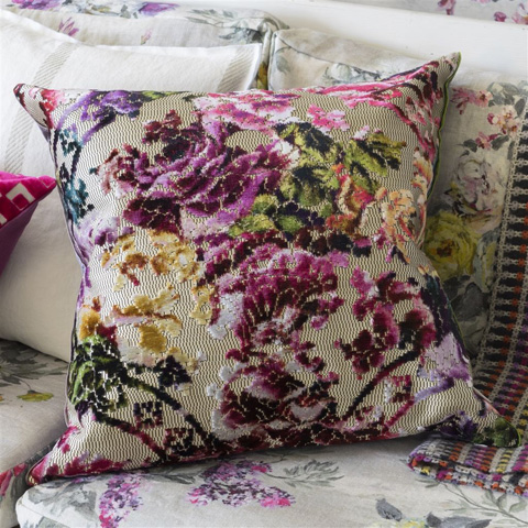 Designers Guild - Martineau Berry Cushion - CCDG0423