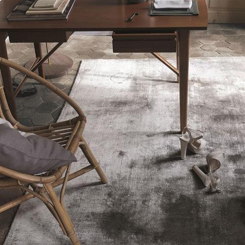 Designers Guild - Eberson Slate Standard Rug - DHRDG0011
