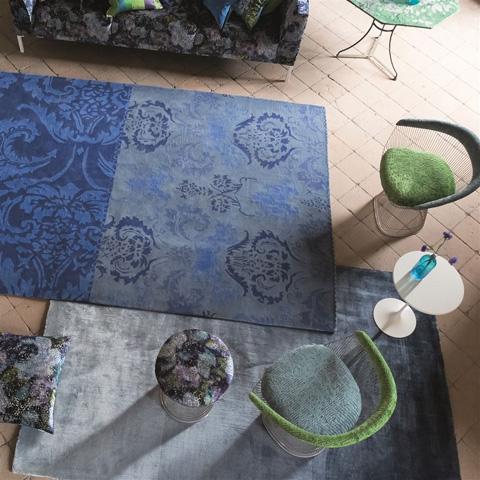 Designers Guild - Eberson Cobalt Large Rug - DHR183/02