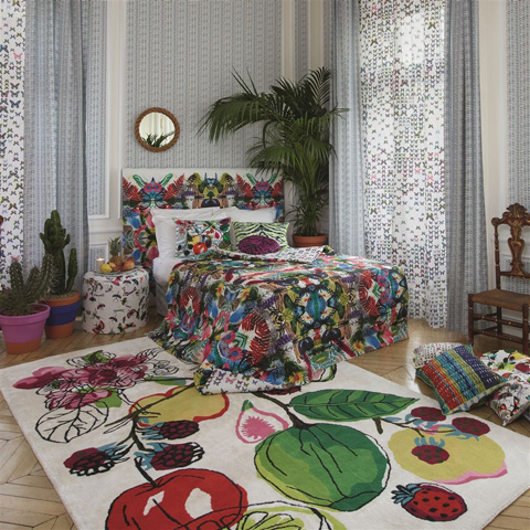 Designers Guild - Christian Lacroix Manaos Perroquet Large Rug - RUGCL0013