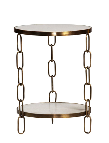 Dovetail Furniture - Curzon Sidetable - AL283