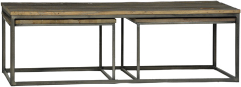 Dovetail Furniture - Douglass Coffee Table - DOV178