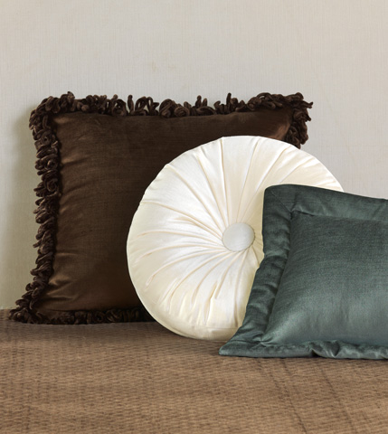 Eastern Accents - Lucerne Mocha Throw Pillow - LCR-152-08