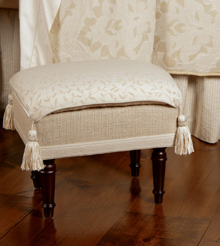 Eastern Accents - Hayes Blossom Pillow Top Stool - OTP-170