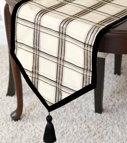 Eastern Accents - Beckett Ink Table Runner - TLA-333