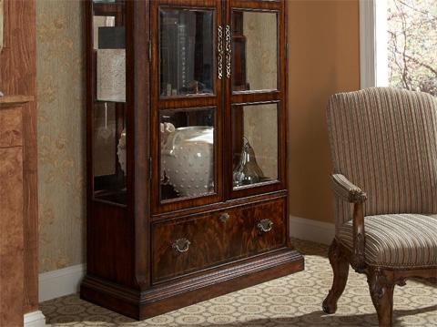 Fine Furniture Design - Curio China with Flat Top - 1110-830