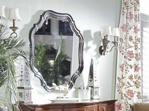 Fine Furniture Design - Shaped Mirror - 921-152