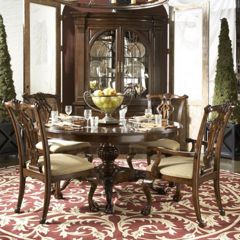 Fine Furniture Design - Charleston Display Cabinet - 1020-856/857