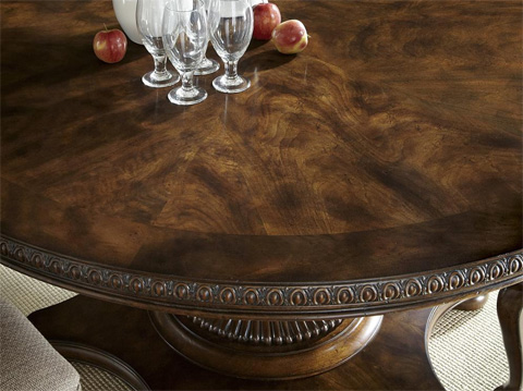 Fine Furniture Design & Marketing - Balustrade Round Dining Table - 1344-810/811