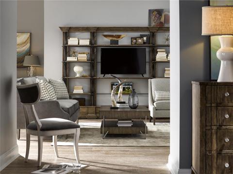 Fine Furniture Design - Cambrion Occasional Wall Bookcase - 1580-990-24A
