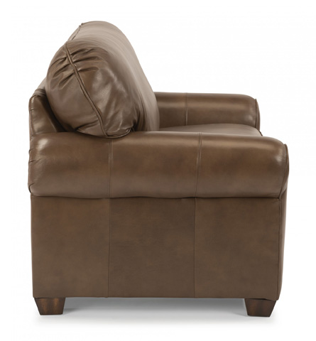 Flexsteel - Leather Chair and a Half - 3535-101
