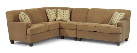 Flexsteel - Fabric Sectional - 5641-SECT