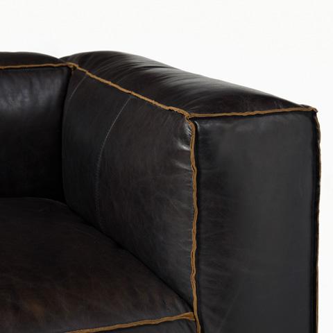 Four Hands - Old Saddle Black Nolita Right Arm Sofa - CCAR-V4-OSB