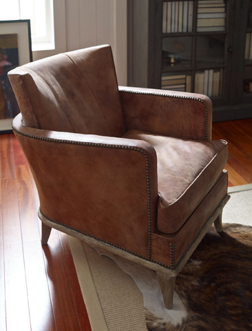 Four Hands - Horseshoe Arm Chair - CABQ16-V60000
