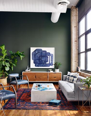 Four Hands - Tyler Arm Chair - CABT-42