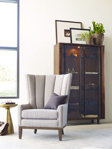 Four Hands - Channelled Wing Chair - CKEN-B8Y-360