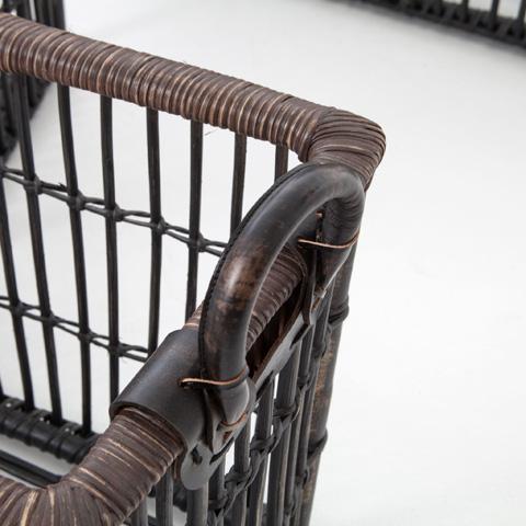 Four Hands - Nesting Wicker Baskets-Set Of 4 - JSD-0024