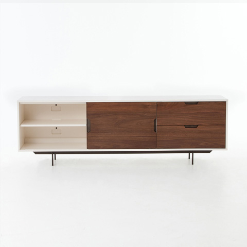 Four Hands - Tucker Large Media Console - VBAR-017