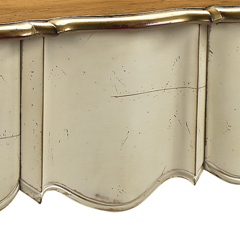 French Heritage - St. Louis Console with 3 Drawers - A-2344-403-LCIV