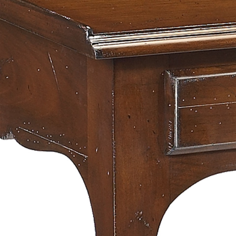 French Heritage - Loraine Cherry End Table - A-2441-403-ANT