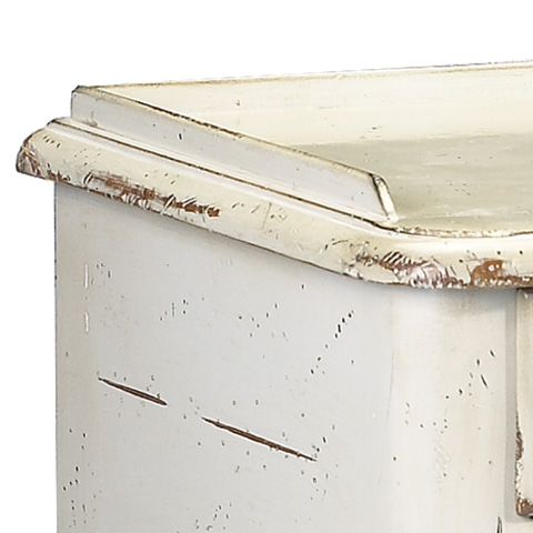 French Heritage - Mareau Two Drawer End Table - A-2441-404-GRY