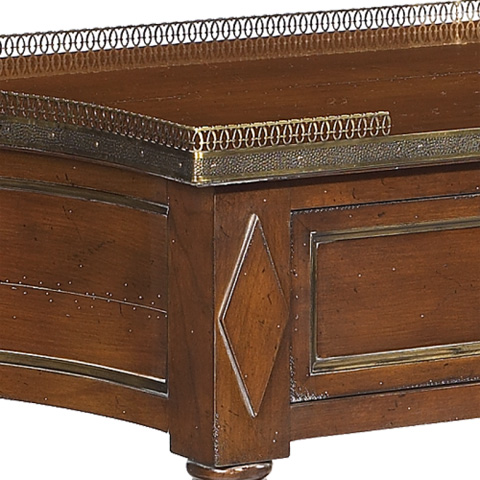 French Heritage - Hoche Cherry Console Table - A-2444-401-ANTM