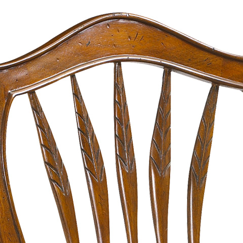 Image of Wheatback Side Chair with Rush Seat