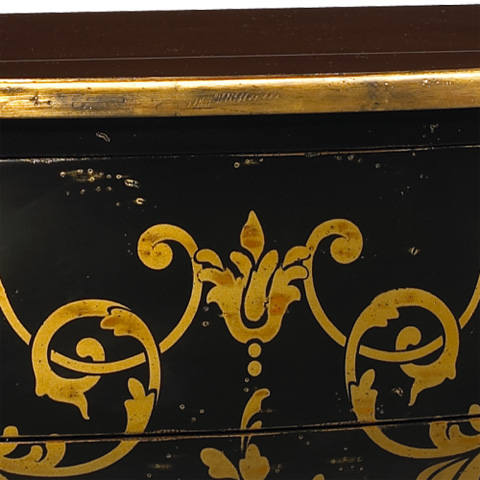 French Heritage - Renaissance Three Drawer Chest - M-1502-405-BKGL