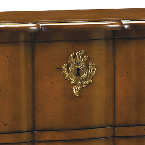French Heritage - Agnes Three Drawer Chest - M-1502-415-LTCH