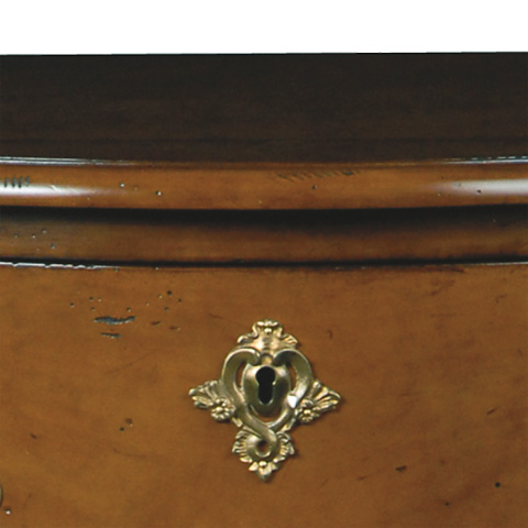French Heritage - Roel Two Drawer Accent Chest - M-1502-417-LTCH